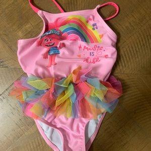 Dreamworks Trolls Swimsuit Size 18 MOs